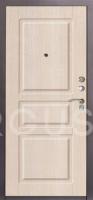 """Дверь металлическая Аргус Стиль-2М ДА-34 Капучино тиснёный """"Сабина"""" - www.cever.ru"""