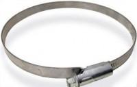 Хомут червячный алюминиевый 100 - 120 мм - www.cever.ru