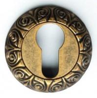 Накладка под ключевой цилиндр BUSSARE Латунь античная КЛАССИКА ВО-20 - www.cever.ru