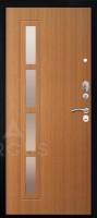 """Дверь металлическая Аргус Стиль-2М ДА-35 Тёмный лён """"Резолит""""  - www.cever.ru"""