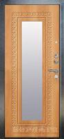 Дверь металлическая Берлога 3К Викинг Миланский орех - www.cever.ru