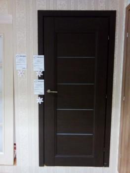 Полотно остеклённое 33.52 Краснодеревщик цвет Чёрный дуб - www.cever.ru