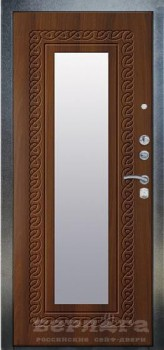 Дверь металлическая Берлога 3К Викинг Коньяк-статус - www.cever.ru